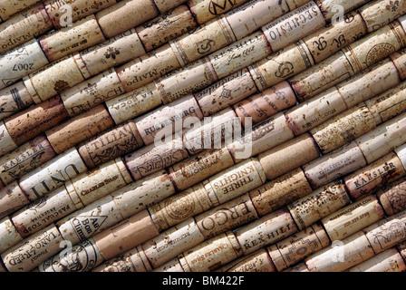 Wine corks - Stock Image