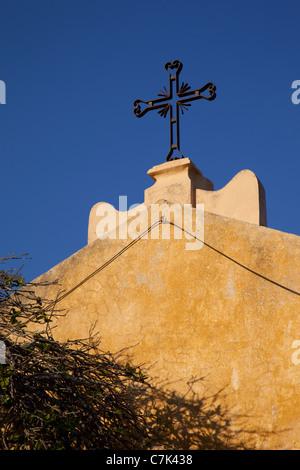 Portugal, Algarve, Praia Da Rocha, Architecture & Cross - Stock Image