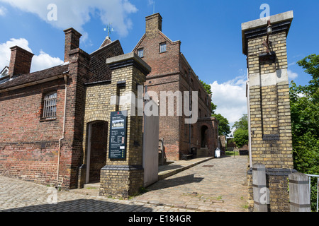 The Entrance to Upnor Castle Kent - Stock Image