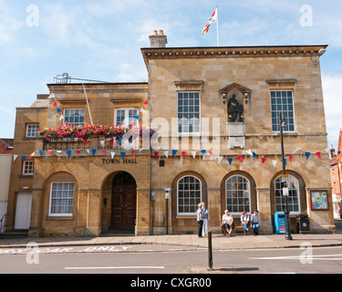 Town Hall in Stratford upon Avon - Stock Image