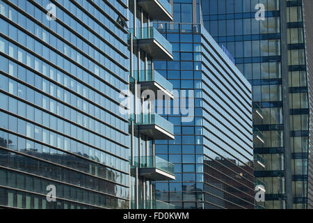 Diamantini Buildings designed by the Kohn Pederson Fox in the Porta Nuova district in Milan, Lombardy, Italy. - Stock Image