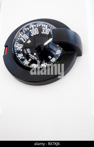 Boats Deck Compass - Stock Image