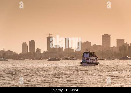 Colaba Skyline, Mumbai, India - Stock Image