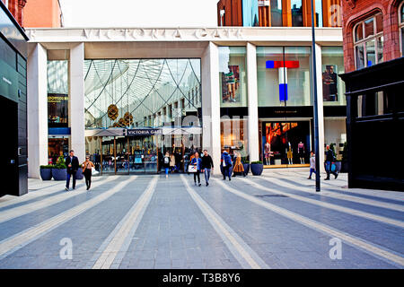 Victoria Gate Shopping Centre, Leeds, England - Stock Image