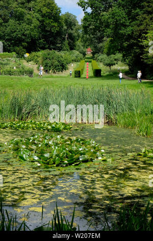 Painswick Rococo Gardens, Painswick, Gloucestershire, UK - Stock Image