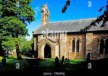 St Andrews Church, Sadberge, Borough of Darlington, England - Stock Image