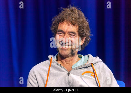 Walsall, West Midlands, UK. 22 March 2015. English singer songwriter Jona Lewie at a recording of 'The David Hamilton - Stock Image