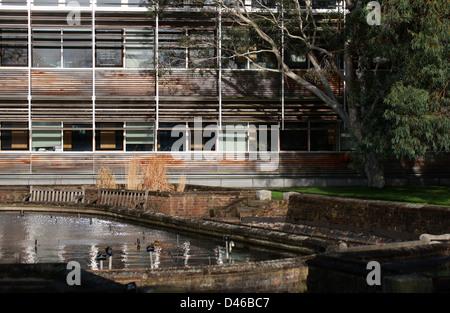 Offices at Royal Botanical Gardens, Kew, Richmond, Surrey, UK - Stock Image