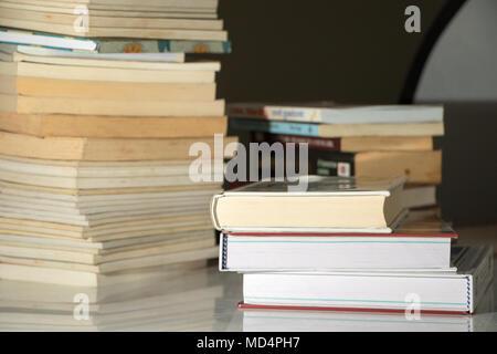 books close up - Stock Image