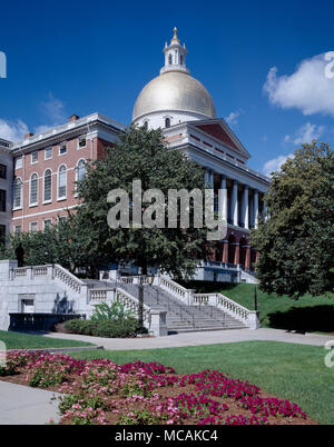 State House & Capital - Stock Image