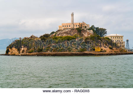 Alcatraz Iceland, San Francisco, California (August 2018) - Stock Image