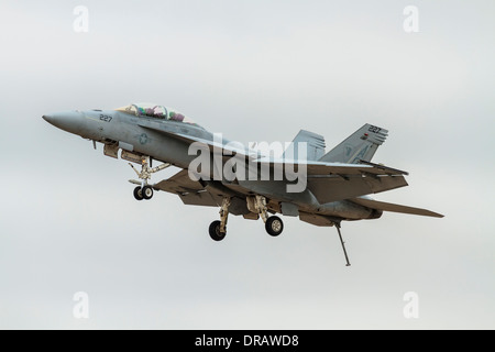 United Sates Navy F/A-18 Super Hornet - Stock Image