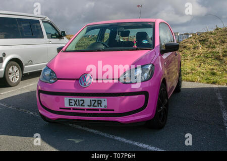 2012 Pink Volkswagen Take UP - Stock Image