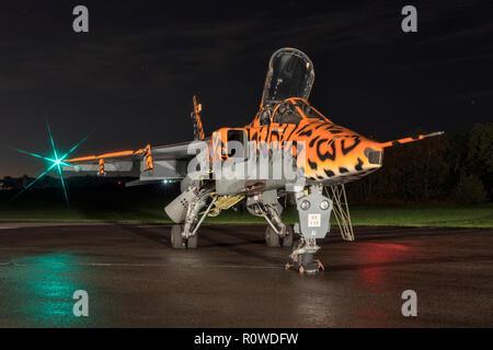 Sepecat Jaguar RAF strike attack aircraft - Stock Image