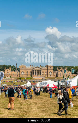 Holkham Country Fair in the grounds of Holkham Hall, 18th-century Palladian house in North Norfolk. - Stock Image