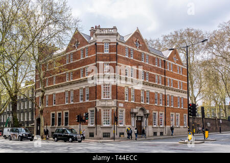 Former police station on Theobalds Road, Holborn. - Stock Image