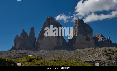 Mountains in the alp in the summer - Stock Image