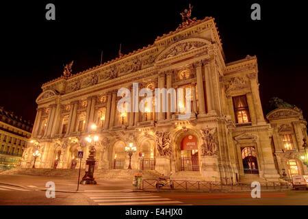 Opéra Garnier, Paris, France - Stock Image