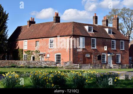 Jane Austen's House & Museum, Chawton, near Alton, Hampshire, UK. - Stock Image