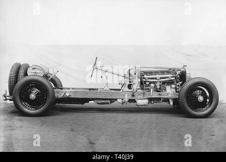 Daimler Double six chassis 1931 prepared by Thomson/Taylor for Brooklands - Stock Image