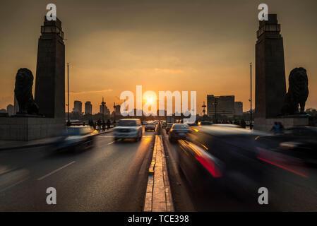 The 6th October Bridge, Cairo, Egypt - Stock Image