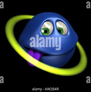 toon planet - Stock Image