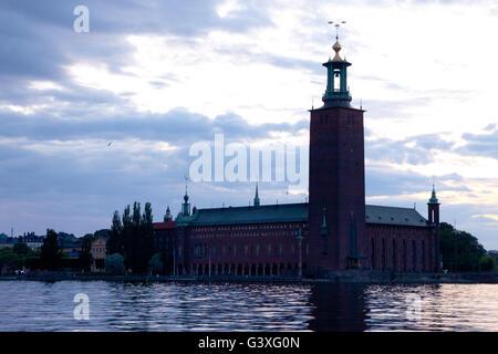 Stadshuset tre Kronor Stockholm - Stock Image