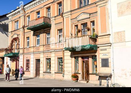 City centre of Vilnius, Lithuania - Stock Image