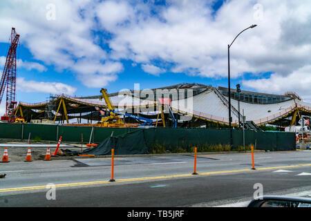 Google Headquarters Mountain View, Silicon Valley California USA - Stock Image
