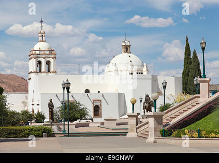 Templo de San Francisco, or, Temple, Church of Saint Francis, in Chihuahua, Mexico - Stock Image