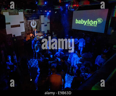 Babylon club and music venue in Istanbul Turkey - Stock Image