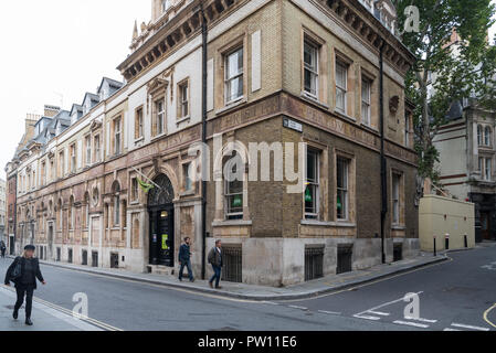 The Youth Hostels Association St. Paul's hostelry on Carter Lane, City of London, England, UK - Stock Image