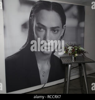 Celebrities attend ÁME Jewelry Launch Event at Eric Buterbaugh Gallery  Featuring: Atmosphere Where: Santa Monica, California, United States When: 13 Dec 2018 Credit: Brian To/WENN.com - Stock Image