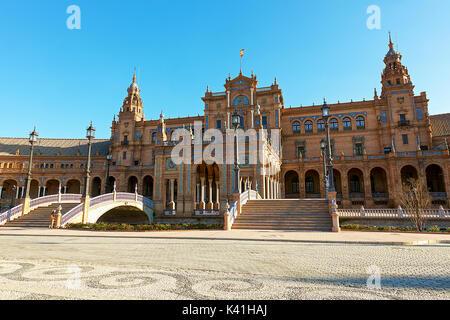 Plaza de Espana,Seville,Spain - Stock Image