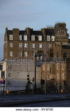 DCA and Queens Hotel Dundee Scotland  March 2019 - Stock Image