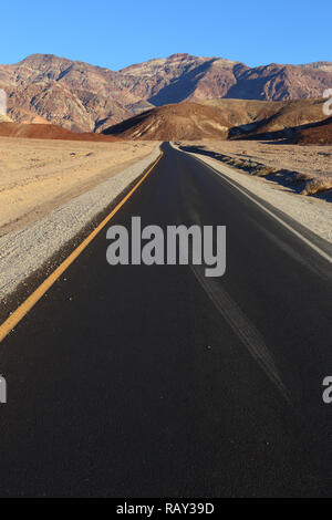 Artists Drive at Death Valley, California, USA - Stock Image