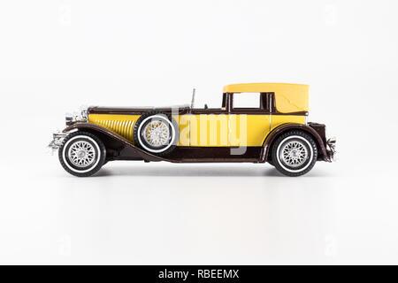 Matchbox Models of Yesteryear Y-4 Duesenberg Model J Town Car 1930 - Stock Image