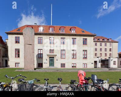 The Niels Bohr Institute from 1920, University of Copenhagen, Denmark. - Stock Image