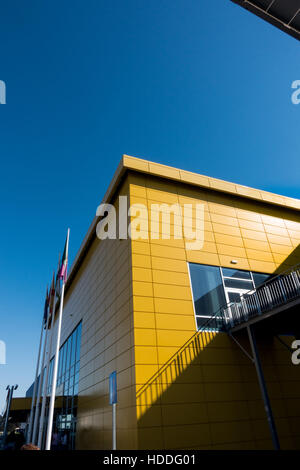 Detail of the IKEA furniture and homeware shop in Malaga, Costa del Sol, Andalucia, Spain. - Stock Image