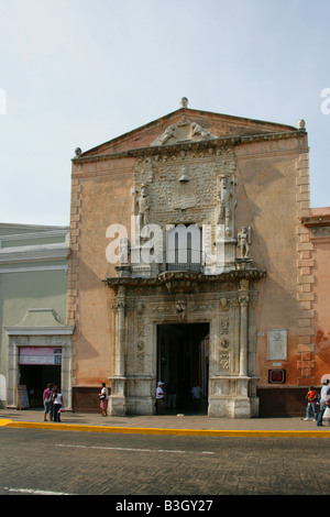 Casa de Montejo, Plaza Major, Merida, Yucatan Peninsular, Mexico - Stock Image