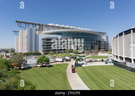 NRG stadium from above - Stock Image