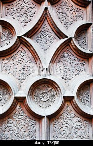 decorative door - Stock Image