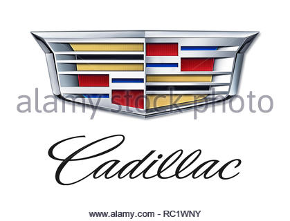 Cadillac logo - Stock Image