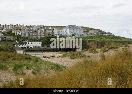Perranporth, North Cornwall Coast, Britain, UK. - Stock Image