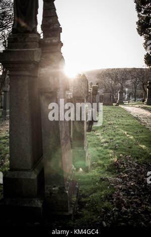 Sunset at the High Church - Stock Image