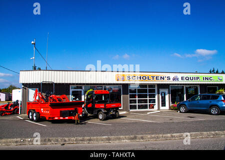 Scholten's Equipment in Lynden Washingtom - Stock Image