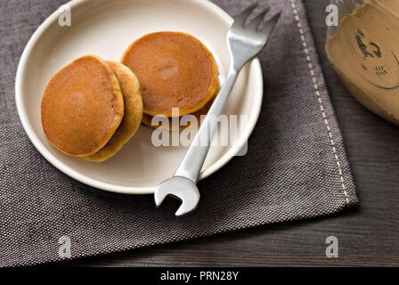 Food Dorayaki - Stock Image