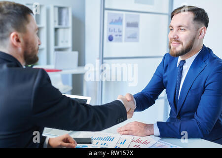 Making deal - Stock Image