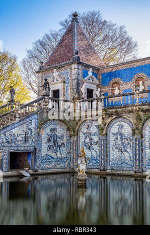 Palace of the Marquises of Fronteira, Lisbon, Portugal - Stock Image