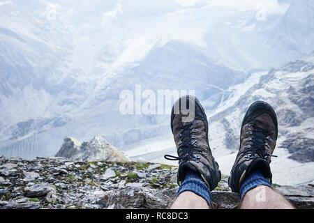 Mont Cervin, Matterhorn, Valais, Switzerland - Stock Image